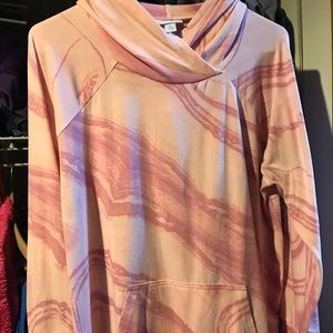 XL Breast Cancer Awareness Amber Hoodie